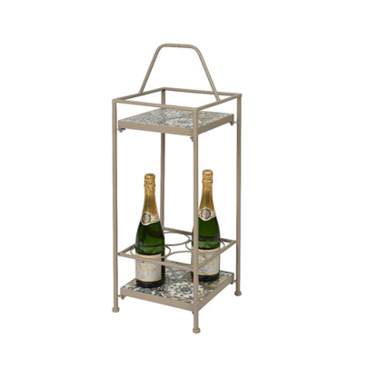 Toulouse mosaic winerack