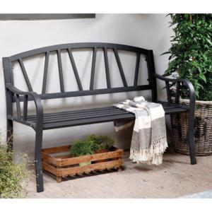 Outdoor Iron Bench (Anthracite matt)