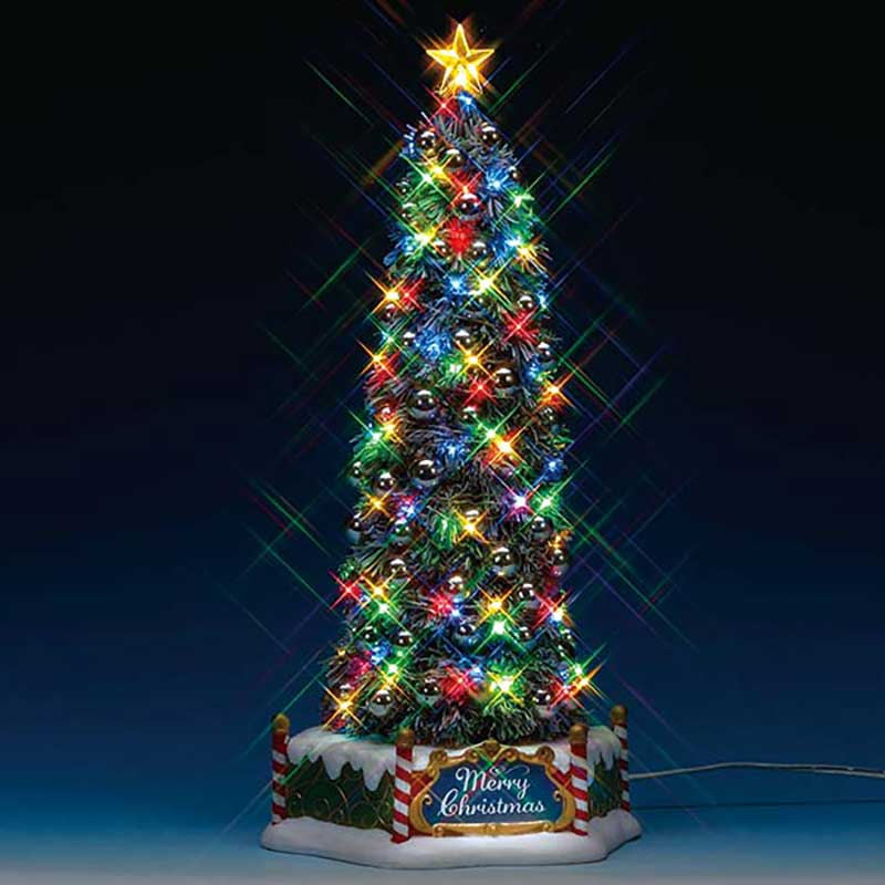 Majestic Christmas.Lemax New Majestic Christmas Tree