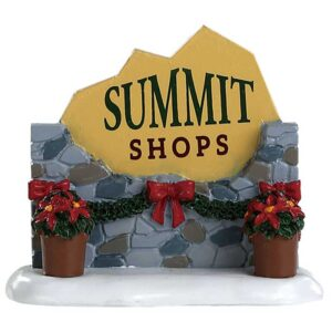Lemax Summit Sign
