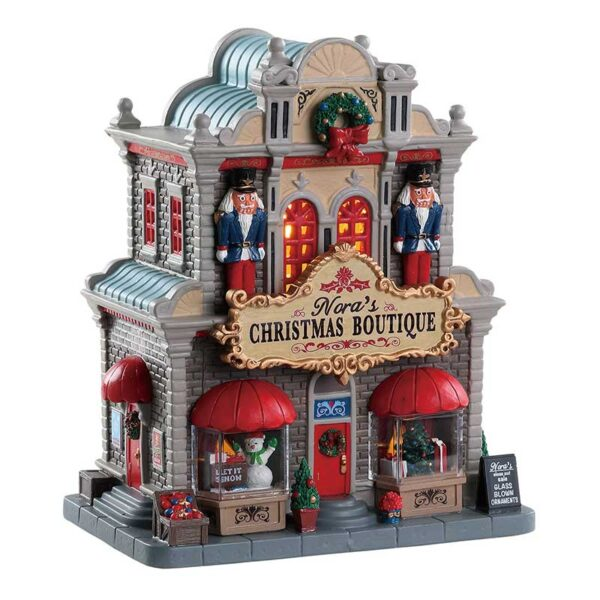 Lemax Nora's Christmas Boutique Lighted Building