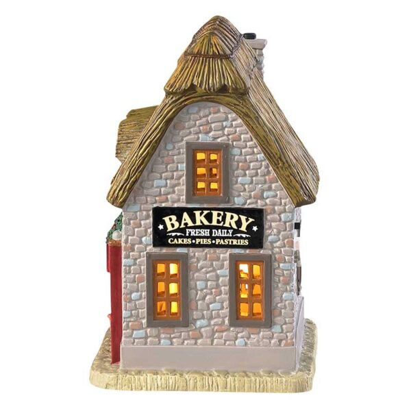 Lemax Beaman's Bakery Lighted Building