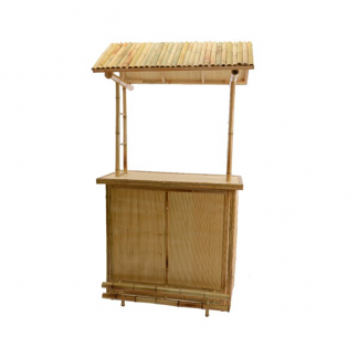 Bamboo Bar Front View