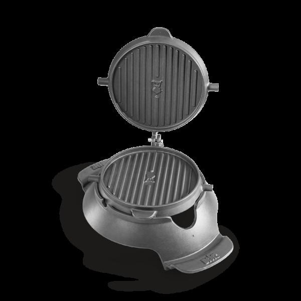 Weber Barbecue Gourmet BBQ System (GBS) Waffle & Sandwich Maker - sandwich sides