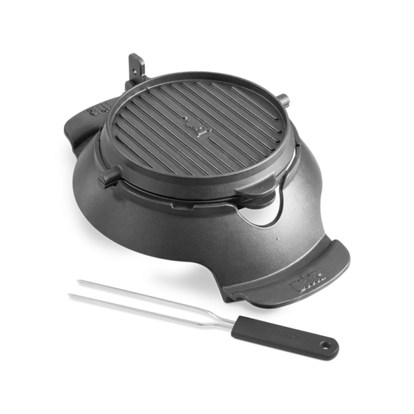 The Weber Barbecue Gourmet BBQ System (GBS) Waffle & Sandwich Maker