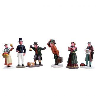 Lemax Townsfolk Figurines - Set of 6
