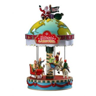 Lemax Yuletide Carousel