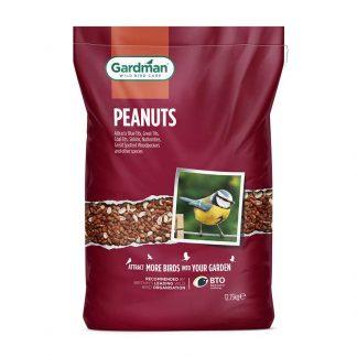 Gardman Peanuts for Wild Birds 12.75Kg Bag