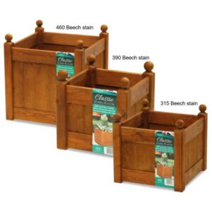 AFK Classic Planter 460 Beech Stain