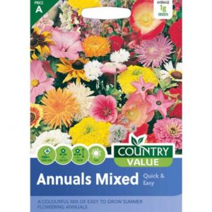Country Value Annuals Mixed Quick & Easy Seeds