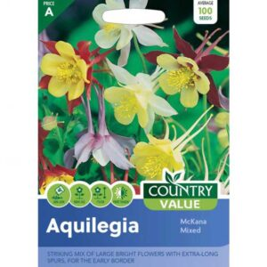 Country Value Aquilegia Mckana Mixed Seeds
