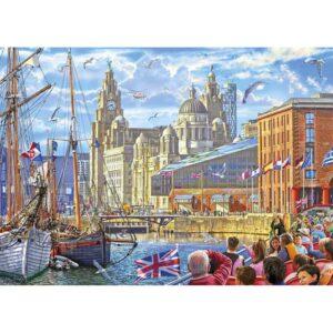 Gibsons Albert Dock, Liverpool 1000 Piece Jigsaw Puzzle