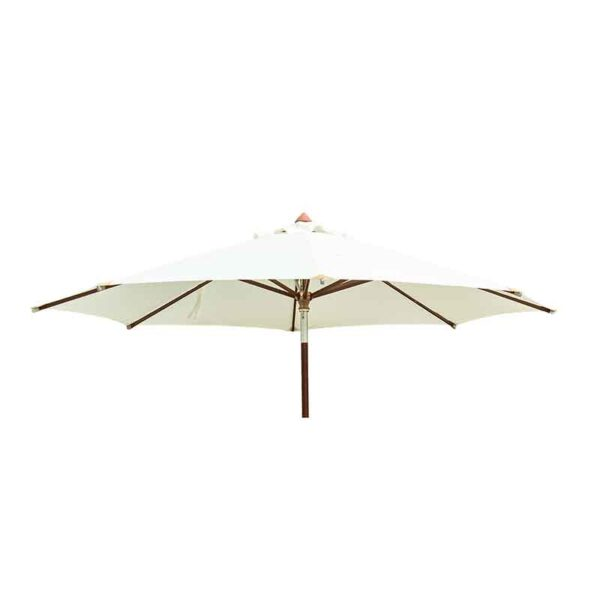 Alexander Rose Roble 6 Seat Garden Dining Set Parasol