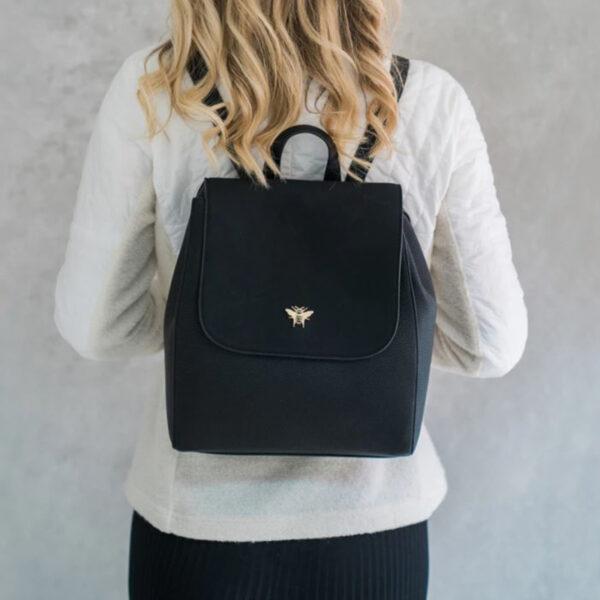 Alice Wheeler Black Backpack AW1020 2