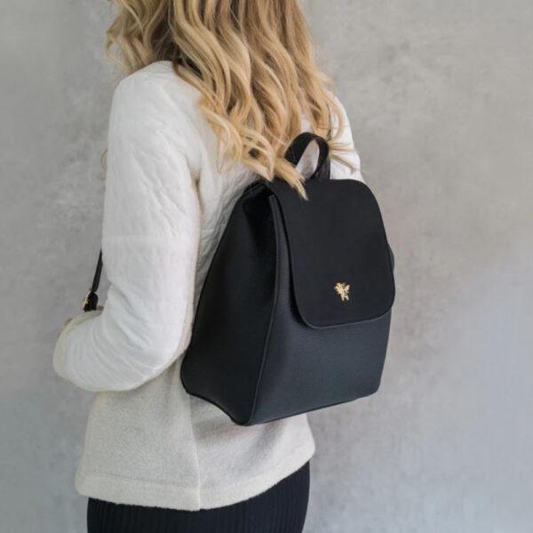 Alice Wheeler Black Backpack AW1020 4