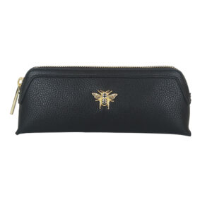 Alice Wheeler Black Makeup Bag AW0116 front