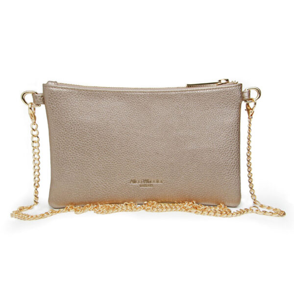 Alice Wheeler Bronze Cross Cute Bag AW5506 Back