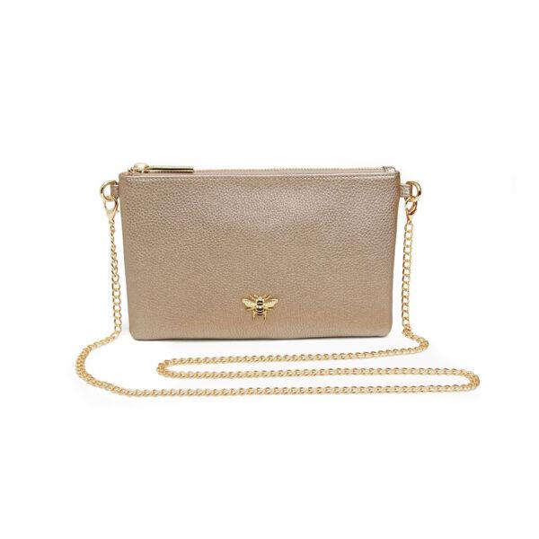 Alice Wheeler Bronze Cross Cute Bag AW5506 Front