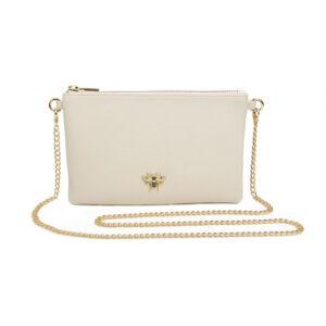 Alice Wheeler Cream Cross Cute Bag AW5502 Front