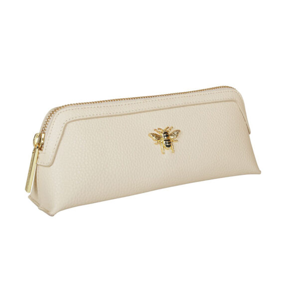 Alice Wheeler Cream Makeup Bag AW0094 SIDE