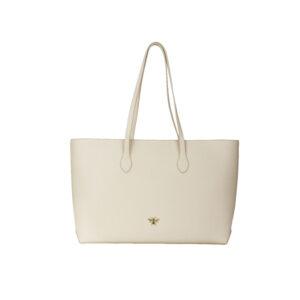 Alice Wheeler Cream Tote Bag AW5518 Front
