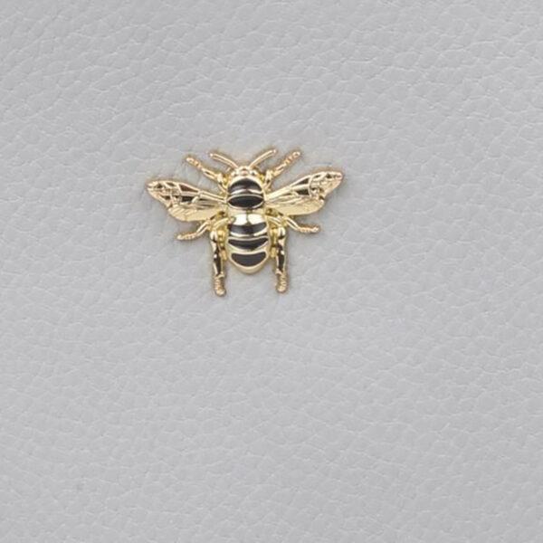 Alice Wheeler Grey Purse AW5539 BEE