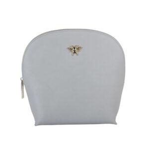 Alice Wheeler Grey Shell Beauty Bag AW0028