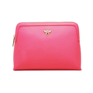 Alice Wheeler Hot Pink Large Cosmetic Bag AW0103 front