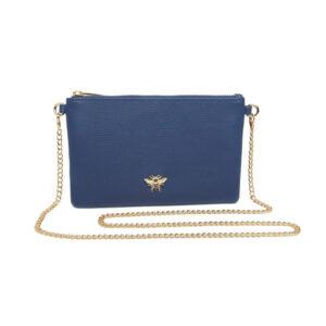 Alice Wheeler Navy Cross Cute Bag AW5501 Front