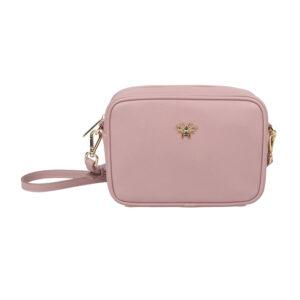 Alice Wheeler Pink Camera Cross Body Bag AW5515 Front