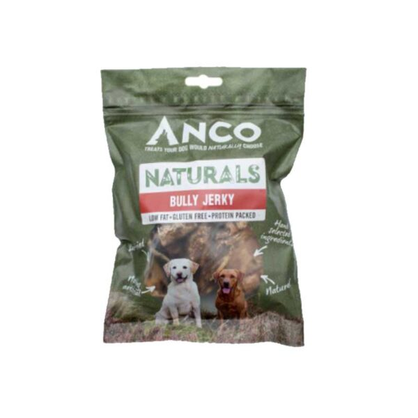 Anco Naturals Bully Jerky Dog Treats 100g