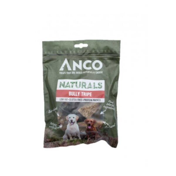 Anco Naturals Bully Tripe Dog Treats 135g