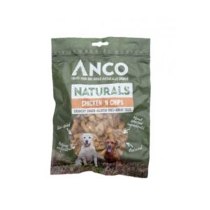 Anco Naturals Chicken 'N Chips Dog Treats 100g
