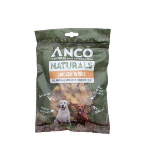 Anco Naturals Chicken Wings Dog Treats 200g