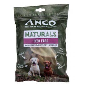 Anco Naturals Deer Ears Dog Treats 5pk