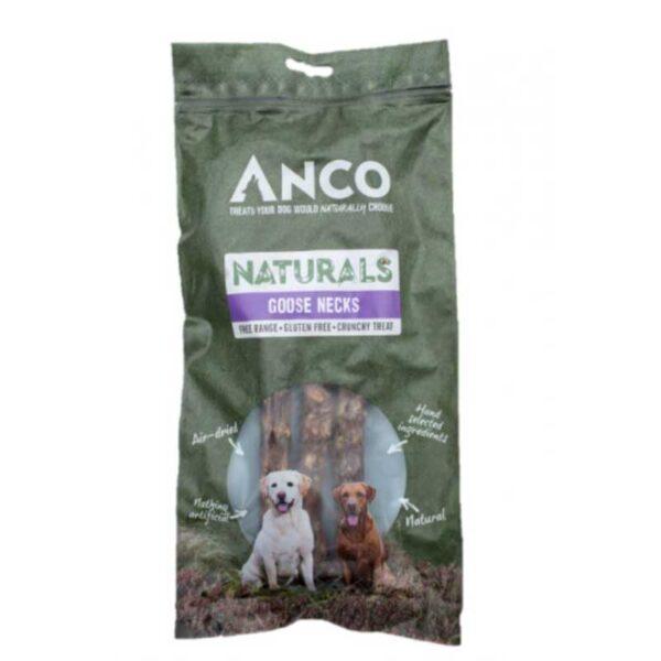 Anco Naturals Goose Necks Dog Treats 3pk