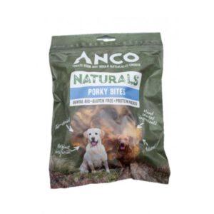 Anco Naturals Porky Bites Dog Treats 250g