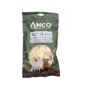 Anco Naturals Rabbit Ears Dog Treats 100g