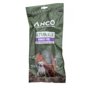 Anco Naturals Turkey Feet Dog Treats 2pk