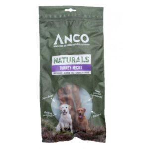 Anco Naturals Turkey Necks Dog Treats 2pk