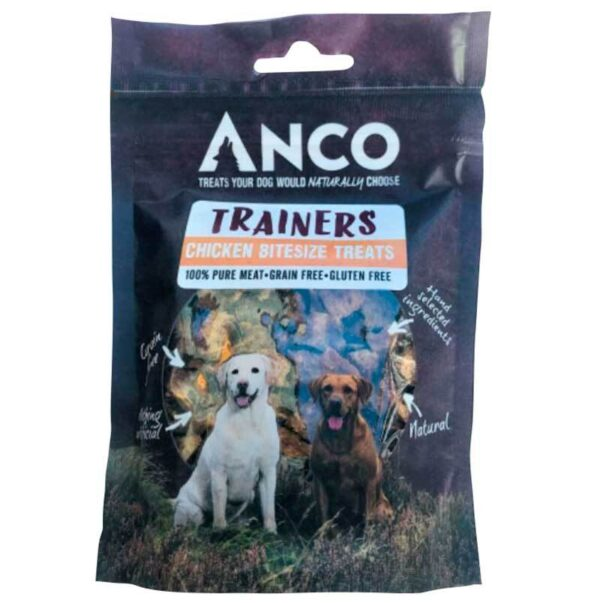 Anco Trainers Chicken Bitesize Treats 70g