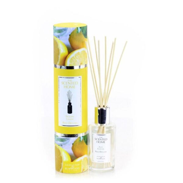 Ashleigh & Burwood The Scented Home Sicilian Lemon Reed Diffuser
