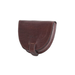 Ashwood Leather Chelsea Men's Coin Wallet Brown front
