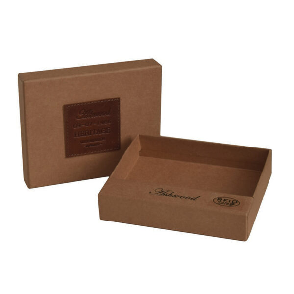 Ashwood Leather Highbury Men's Wallet Tan box