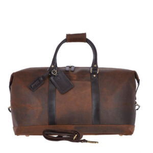 Ashwood Leather Marcus Oxford Heritage Men's Holdall front