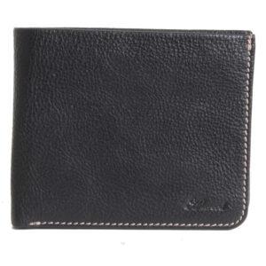 Ashwood Leather Stratford Men's Black Wallet front