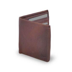 Ashwood Leather Stratford Men's Tan Wallet front 2 no box