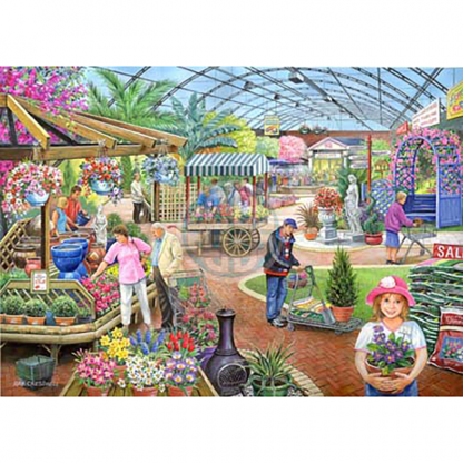 House Of Puzzles At The Garden Centre 1000 Piece Jigsaw