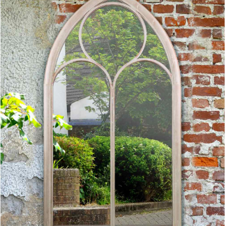 York Outdoor Garden Mirror