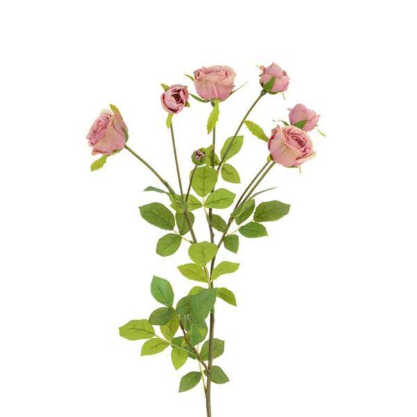 Floralsilk English Rose Spray (72cm)